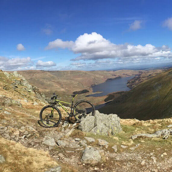 mountain biking lake district